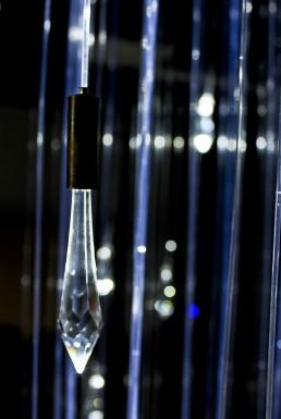 fiberoptic lighting chandelier