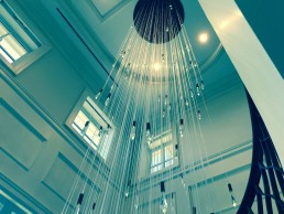fiberoptic lighting chandelier
