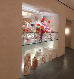 Orion's work in the Glossier Flagship Store - Manhattan