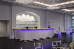 Custom millwork for Lakeview Pavilion