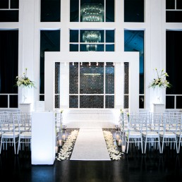 Lakeview Pavilion Event Arch featuring Swarovski Crystals