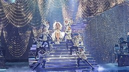Orion was proud to be the fabrication partner for this dazzling Swarovski stage design - Photo Courtesy of Swarovski's YouTube