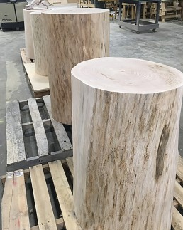 Refinished Oak Logs
